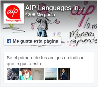 Facebook page of AIP Language Institute